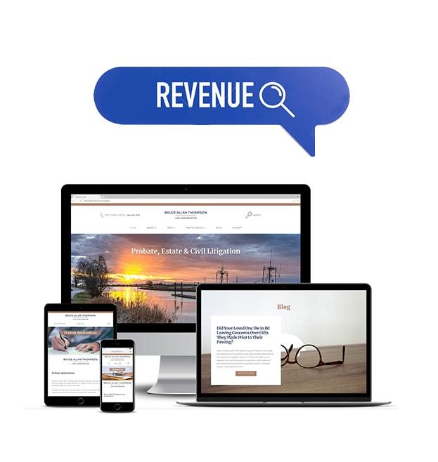website revenues
